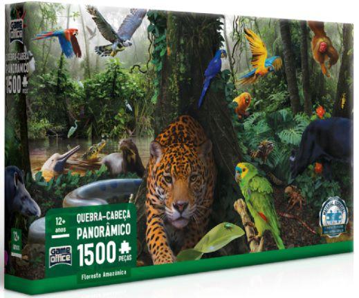 QC FLORESTA AMAZÔNICA (QUEBRA-CABEÇAS 1500 PEÇAS)