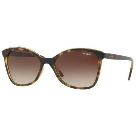 bb19d6fd8b Óculos de Sol Vogue Feminino Marrom Degradê VO51598L TAM. 58 ÚNICO ...
