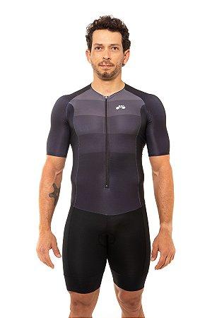 Macaquinho Triathlon Masculino Basic Cinza