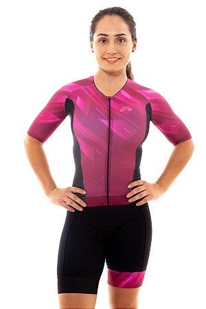 Macaquinho Triathlon Feminino Aero 2020 Vinho