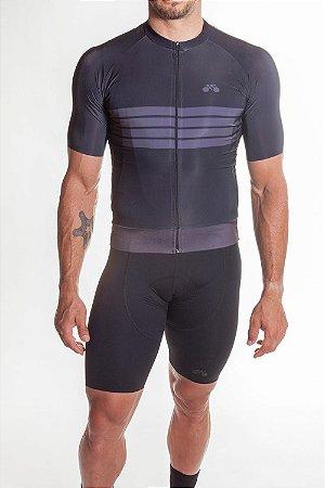 Camisa Ciclismo Masculina Aero 2019 Preto
