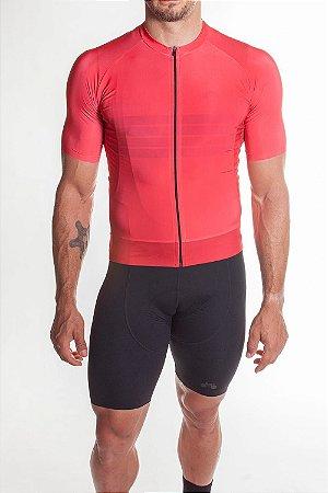 Camisa Ciclismo Masculina Aero 2019 Vermelho