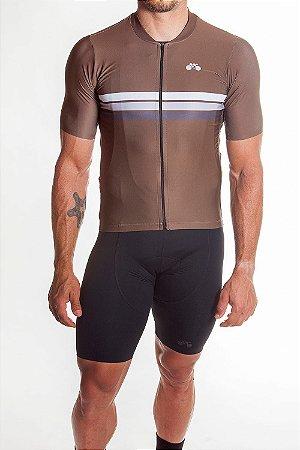 Camisa Ciclismo Masculina Sport Ferrugem