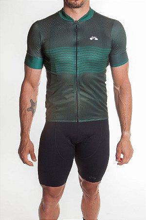 Camisa Ciclismo Masculina Basic 2019 Verde