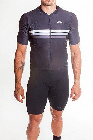 Camisa Ciclismo Masculina Sport Preto