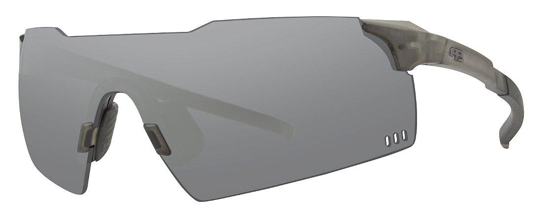 Óculos HB Quad V Matte Onyx Silver