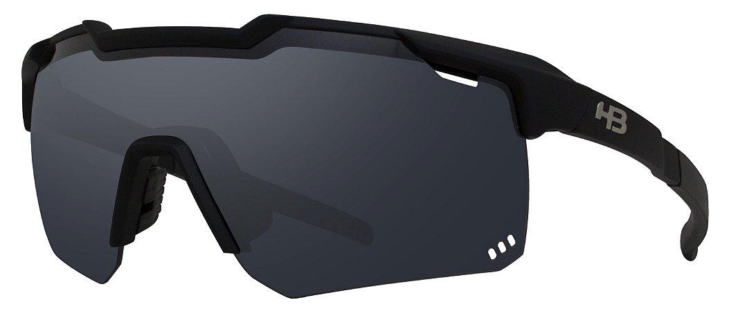 Óculos HB Shield Road Matte Black Gray