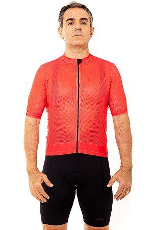 Camisa Ciclismo Masculina 2020 Premium Vermelho