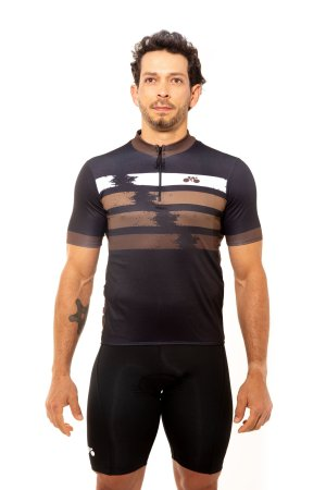 Camisa Ciclismo Unissex 2020 First Marrom