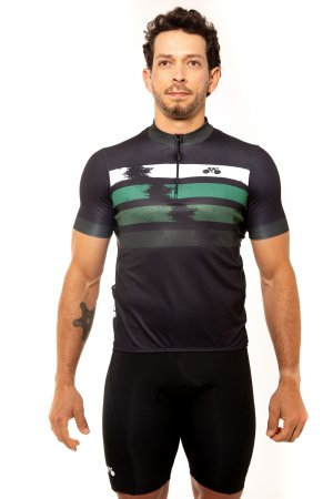Camisa Ciclismo Unissex 2020 First Manchas Verde