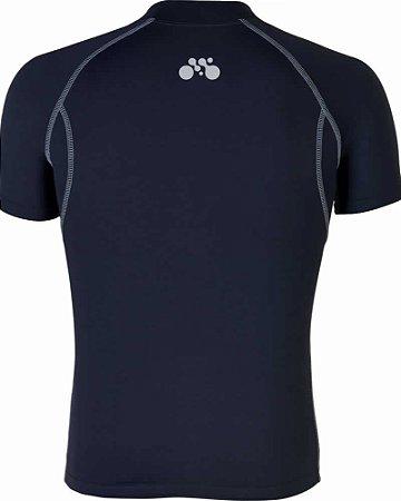 Camisa Segunda Pele Curta Preto