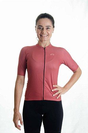 Camisa Ciclismo Feminino Basic 2021 Colors Cobre