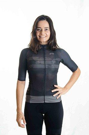 Camisa Ciclismo Feminina Aero 2020+1 Brasil
