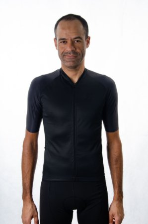 Camisa Ciclismo Masculina Basic 2021 Exclusive Preto