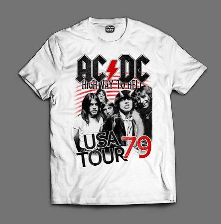 Camiseta - AC/DC - Usa Tour 79
