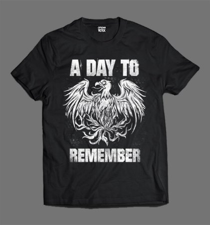 Camiseta - A Day to Remember - Logo Eagle