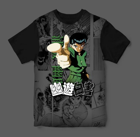 Camiseta 3D - YuYu Hakusho
