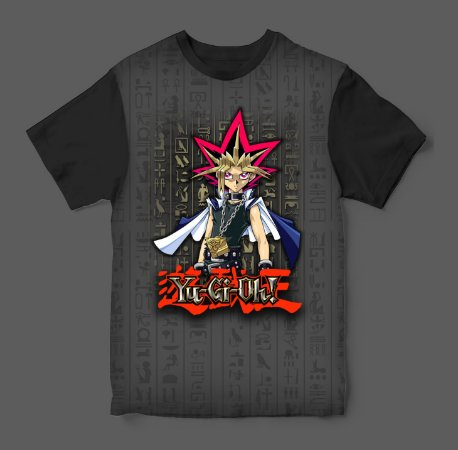 Camiseta 3D - Yu-Gi-Oh