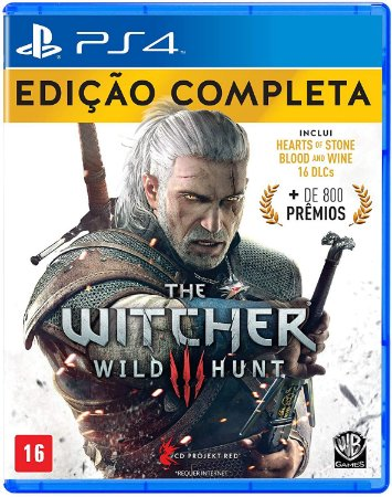 The Witcher III Wild Hunt Edição Completa - PS4