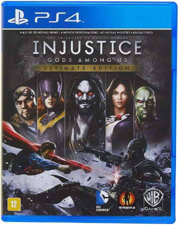 Injustice Gods Amoung US Ultimate Edition - PS4