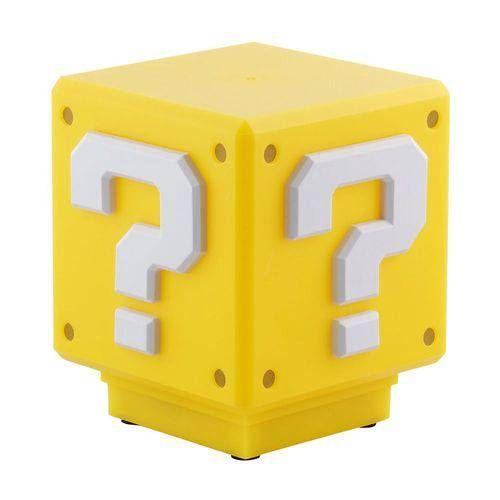 Luminaria Nintendo Super Mario Bros - Mini Question Block Com Som Pp3428nntx