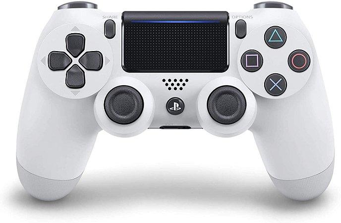 Controle Dualshock 4 - Branco