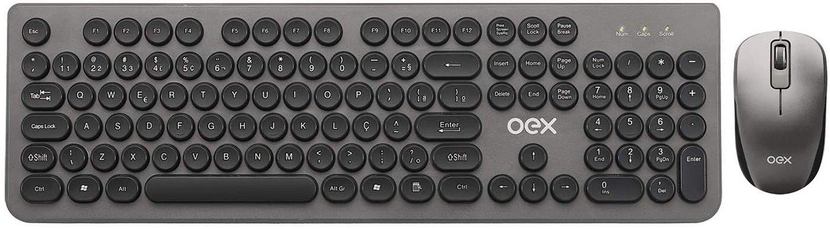 Combo Mouse + Teclado POP+ Preto - TM410