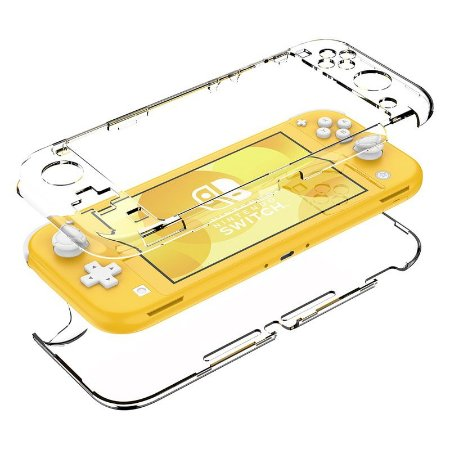 Case Cristal Transparente - Nintendo Switch Lite