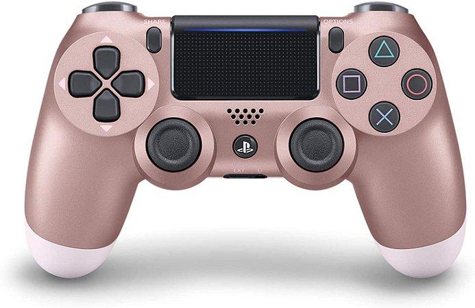 Controle Dualshock 4 - Gold Rose