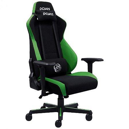 Cadeira Gamer Mad Racer V8 Turbo PCYes - Verde