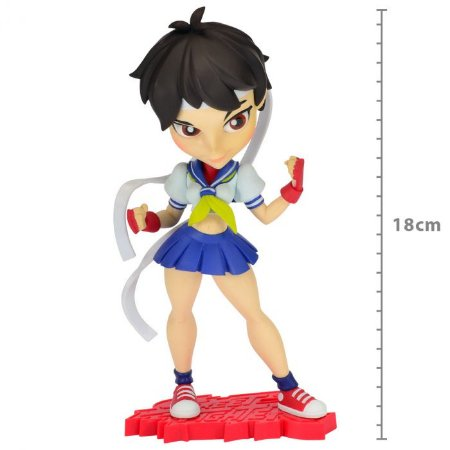 Figure Street Fighter - Sakura - Knock-outs Serie 1