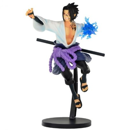 Figure Naruto Shippuden - Sasuke Uchiha - Vibration Stars Ref: 20781/20782