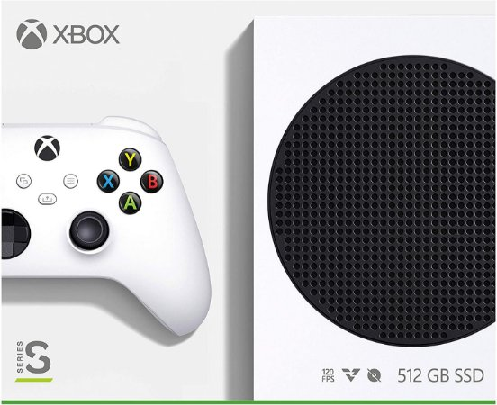 Console Xbox Series s 500gb Ssd Lote:nf 2161 Ean: 889842651362