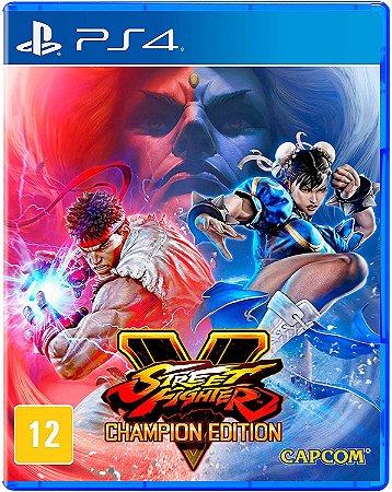 Street Fighter v - Champion - PS4