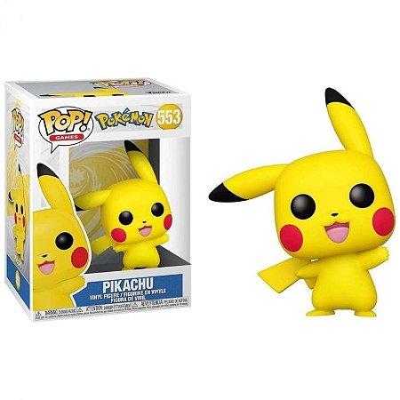 Pop! Pokemon - Pikachu (waving) - #553