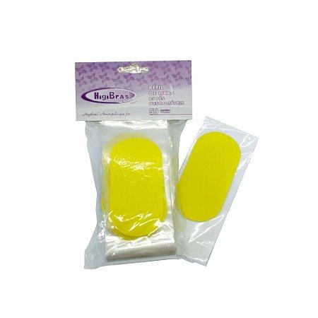 Lixa para pés com protetor plástico - descartável - 50 unid.