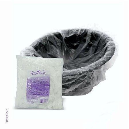 Protetor plástico de bacia - Manicure - 50 unidades