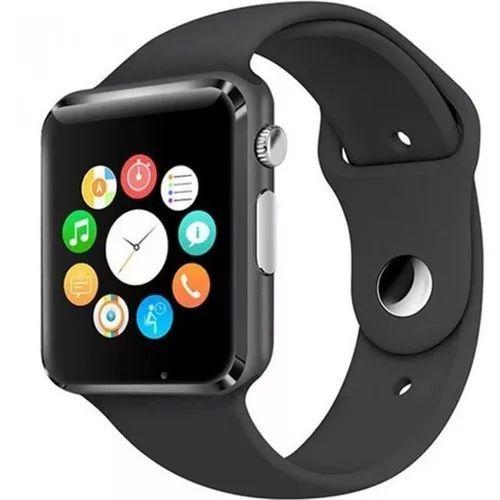 Relógio Inteligente - Smartwatch M2 com Bluetooth Câmera Celular Chip