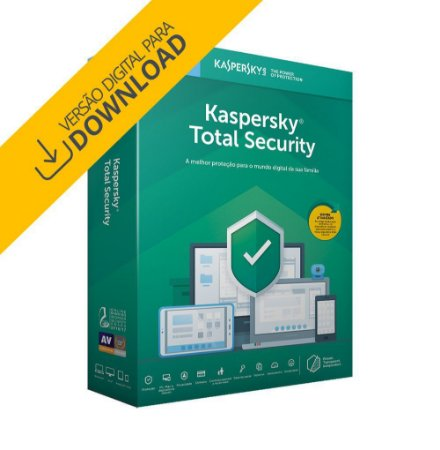 Kaspersky Antivírus Total Security 2019 - Digital para Download