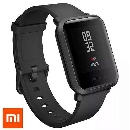 Relógio Xiaomi Amazfit Bip A1608 Global Preto + Película de brinde