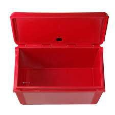 Locação de Caixa Térmica Vermelha Lisa 120L