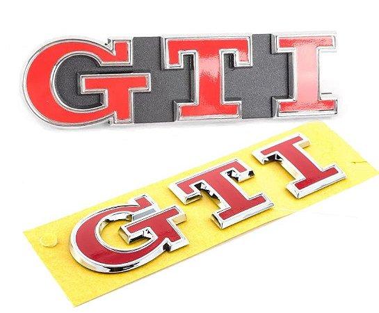 "Kit Emblemas MK7 Golf GTI ""Red"" Performance OEM VW"