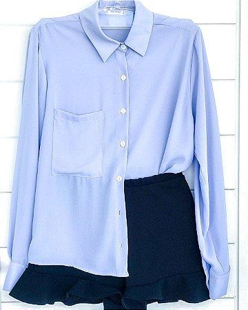 Camisa Salina - Azul bebê