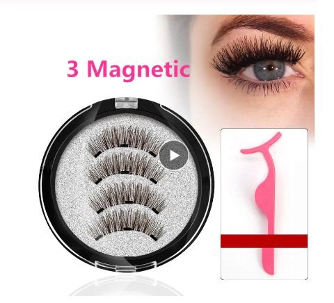 Cílios Magnéticos Imã Triplo