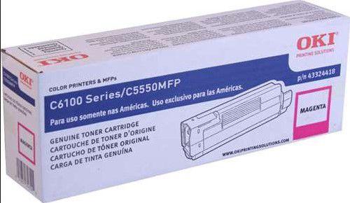 TONER OKI C6100/C5550MFP  MAGENTA  - 43324418 (VENCIDO)