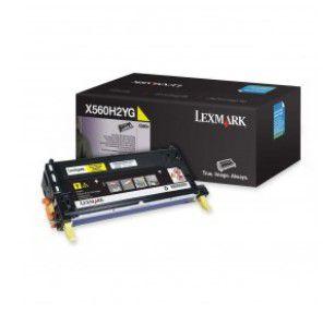 Cartucho de Toner Lexmark X560 Amarelo - X560H2YG