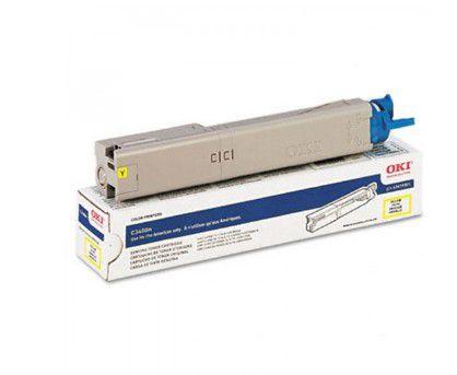 TONER OKI C3400n/C3600n/C3530MFP/MC360 AMARELO  (VENCIDO) - 43459301