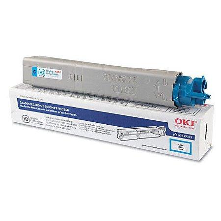 Toner Oki C3400n/c3600n/c3530m/mc360 43459303 Ciano Vencido
