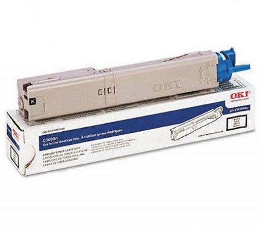Toner Oki C3400n C3600n C3530mfp Mc360 Preto - 43459304