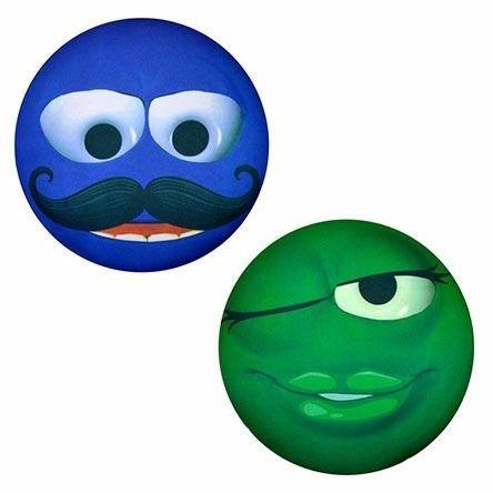 Almofada Carinhas Azul E Verde